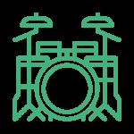 Schlagzeug-Icon